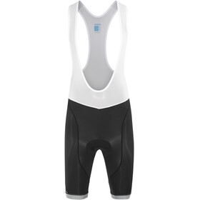 Shimano Aspire Bib Shorts Heren wit/zwart